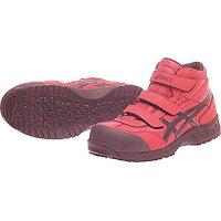 アシックスワーキング asics working 安全靴 作業靴 ウィンジョブ42S FIS42S 2390レッド/ブラック/26.5