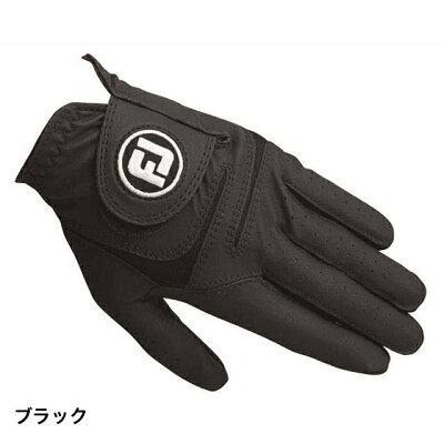 フットジョイ ゴルフグローブ WeatherSof 21cm/ブラック FGWF18