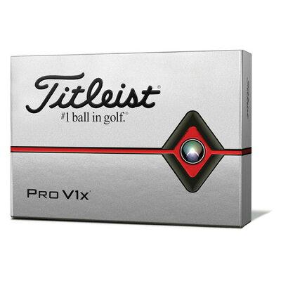 タイトリストTITLEISTゴルフボール 2019 Pro V1X ダブルナンバー ユニセックス T2046S-LEJ ホワイト