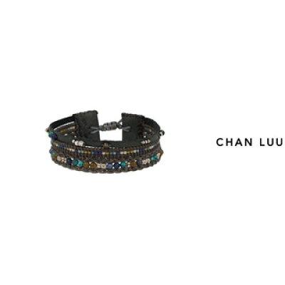 CHAN LUU/チャンルー セミプレシャスストーン マルチプルタイブレスレット BSM-1686 BLUE MIX