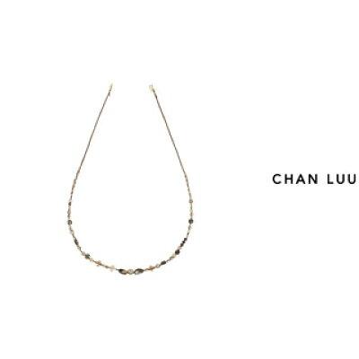 CHAN LUU/チャンルー セミプレシャスストーン ネックレス NG-13314 NATURAL MIX