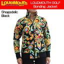 レディース Loudmouth ラウドマウス 2016 ボンディングジャケット 020 ShagadelicBlack シャガデリックブラック 726707