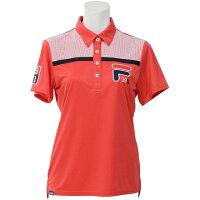 フィラゴルフ レディース ゴルフポロシャツ Mサイズ/RD 757642