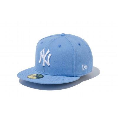 ニューエラ キャップ 59FIFTY MLB ニューヨークヤンキース スカイブルー×ホワイト 5950 NEYYAN SK BLU SWHT 11308545