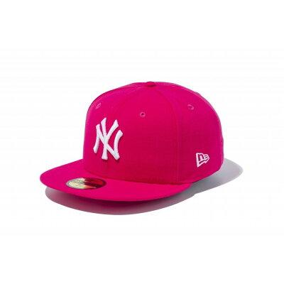 ニューエラ キャップ 59FIFTY MLB ニューヨークヤンキース ブライトローズ×ホワイト 5950 NEYYAN BROS SWHT 11308561