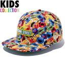 ニューエラキッズ NEW ERA Kid's 9FIFTY Sesame Street Allover セサミストリート コラボ スナップバックキャップ CAP 11322200
