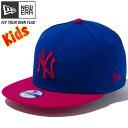 ニューエラ 950 スナップバック キッズキャップ ツートーンボディ MLB ニューヨークヤンキース