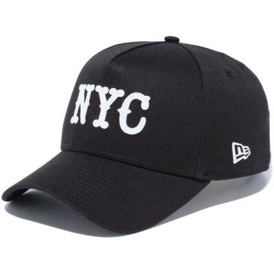ニューエラ キャップ スナップバック 9FORTY A-FRAME NYC ブラック NEW ERA ニューエラキャップ