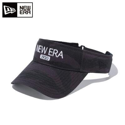 ニューエラ NEWERA メンズ ゴルフ サンバイザー タイガーストライプカモ ダークグレー/ブラック 11901067