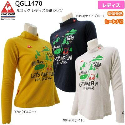 モデルlecoq sportifルコック 長袖シャツレディス QGL1470  B-ONE