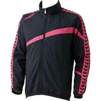 ARENA ウィンドジャケット サイズ:S カラー:ブラック×ピンク #ARN-6300-BKPK