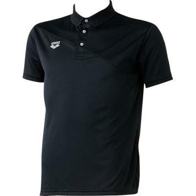 ARENA ポロシャツ サイズ:S カラー:ブラック #ARN-6333-BLK
