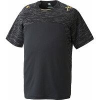 デサント DESCENTE ベースボールシャツ DBX-5600A BLK