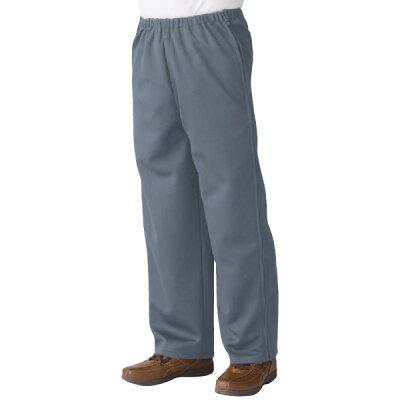 全開ファスナー パンツ スウェットパンツ  両開き 両脇全開 介護ズボン ウエストゴム パ