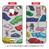 SECOND SKIN 手帳型スマートフォンケース Rob Kidney Dreamy Cars / for AQUOS Xx 304SH/SoftBank SSH304-IJTC-401-LJ07