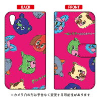 SECOND SKIN 手帳型スマートフォンケース Rob Kidney City Escape Picnic Crew / for Xperia Z2 SO-03F/docomo DSO03F-IJTC-401-LJ09