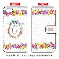 iPhone 5c/docomo専用 Coverfull   Cf LTD イニシャル パステルフラワー G DAPI5C-IJTC-401-MCH5