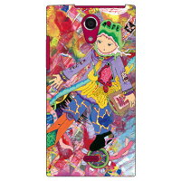 SECOND SKIN サイトウケイスケ CRIER FLIER / for AQUOS CRYSTAL Y 402SH/Y!mobile YSH402-ABWH-193-K607