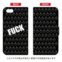 iPhone 5c/docomo専用 Coverfull   Cf LTD FUCK ブラック DAPI5C-IJTC-401-MDK8