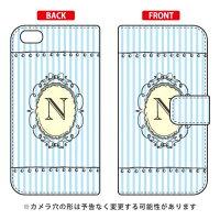 iPhone 6 Plus/Apple専用 Coverfull   Cf LTD イニシャル アルファベット N サックス 3AP6PS-IJTC-401-MCT8