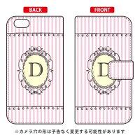 iPhone 6/Apple専用 Coverfull   Cf LTD イニシャル アルファベット D ピンク 3APIP6-IJTC-401-MCV6