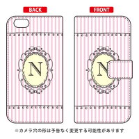 iPhone 6/Apple専用 Coverfull   Cf LTD イニシャル アルファベット N ピンク 3APIP6-IJTC-401-MCW7