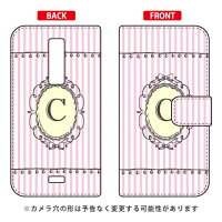 URBANO L01/au専用 Coverfull   Cf LTD イニシャル アルファベット C ピンク AKYL01-IJTC-401-MCV5