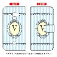 AQUOS PHONE SERIE SHL22/au専用 Coverfull   Cf LTD イニシャル アルファベット V サックス ASHL22-IJTC-401-MCU7