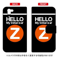 AQUOS PHONE SERIE SHL23/au専用 Coverfull   Cf LTD サブウェイ イニシャル アルファベット Z オレンジ ASHL23-IJTC-401-MDH3