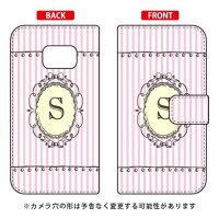 Galaxy S6 edge 404SC/SoftBank専用 Coverfull 手帳型Cf LTD イニシャル アルファベット S ピンク SSC404-IJTC-401-MCX3