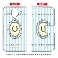 Disney Mobile on SoftBank DM016SH/SoftBank専用 Coverfull 手帳型Cf LTD イニシャル アルファベット O サックSSH016-IJTC-401-MCT9