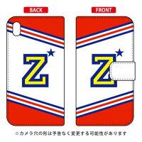 Xperia Z3/SoftBank専用 Coverfull 手帳型Cf LTD チア イニシャル アルファベット Z レッド SSOXZ3-IJTC-401-MD09