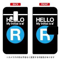 DIGNO T 302KC/Y!mobile専用 Coverfull 手帳型Cf LTD サブウェイ イニシャル アルファベット R サックYKY302-IJTC-401-MDJ3