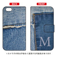 Coverfull 手帳型フォトデニム イニシャル M design by ARTWORK / for iPhone 6/Apple 3APIP6-IJTC-401-MCN9
