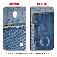 Coverfull 手帳型フォトデニム イニシャル O design by ARTWORK / for Optimus G pro L-04E/docomo DLGL4E-IJTC-401-MCO2