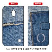 Coverfull 手帳型フォトデニム イニシャル O design by ARTWORK / for Optimus G pro L-04E/docomo DLGL4E-IJTC-401-MCO2