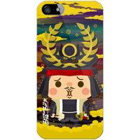 SECOND SKIN チョイコレ武将 徳川家康 ソフトTPUクリア design by 稲葉貴洋 / for iPhone 5s/au AAPI5S-TPCL-705-J464