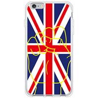 SECOND SKIN ユニオンソルート イエロー ソフトTPUクリア / for iPhone 6s Plus/Apple 3AP6SL-TPCL-701-J085
