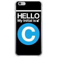 iPhone 6s Plus/Apple専用 Coverfull Cf LTD サブウェイイニシャル C サックスブルー クリア 3AP6SL-PCCL-152-MCC8
