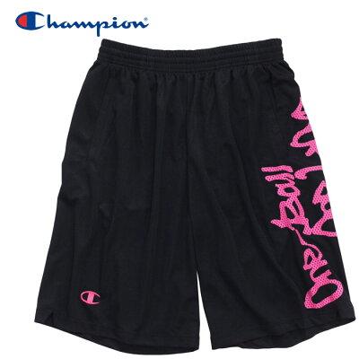 Champion チャンピオン PRACTICE PANTS C3HB502 ブラック/ピンク S