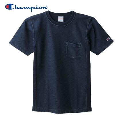 チャンピオン ヘインズ マルチSPウェア リバースウィーブTシャツ C3-H307-330