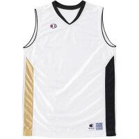 Champion バスケット ゲームシャツ CBR2203 WK Wブラック S