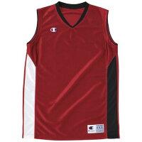 Champion WOMENS バスケット ゲームシャツ CBLR2203 R レッド S