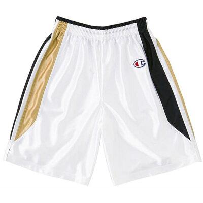チャンピオン  ジュニア バスケット ゲームパンツ 男女兼用 CBYR2082 WK Wブラック 140