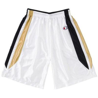 Champion バスケット ゲームパンツ 男女兼用 CBR2253 WK Wブラック XL