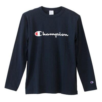 チャンピオン Champion メンズ ベーシック ロングスリーブTシャツ LONG SLEEVE T-SHIRT C3-J426 ネイビー