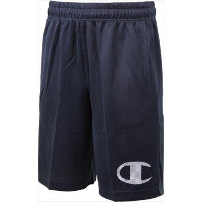 Champion メンズ バスケットボールウェア C ODORLESS HALF PANTS C3KS533 ネイビー M