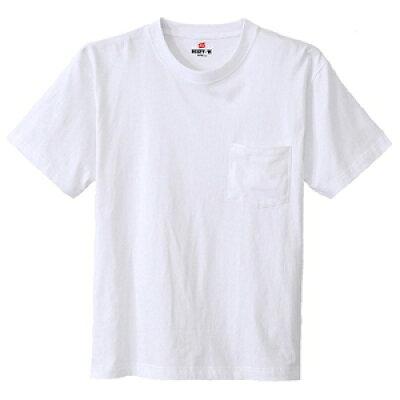 Hanes ヘインズ ビーフィー BEEFY ポケット Tシャツ