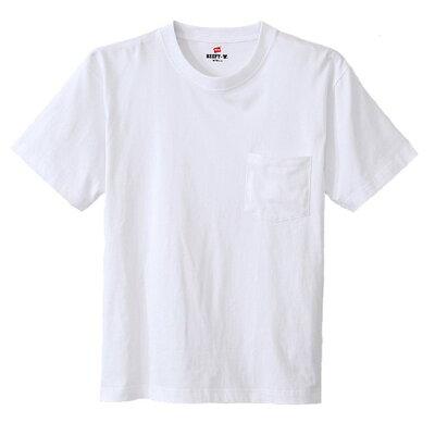 BEEFY-T ビーフィーポケットTシャツ サイズ:XL カラー:ホワイト #H5190-010