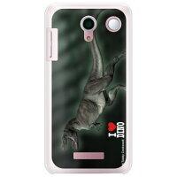DIGNO M KYL22/au専用 スマートフォンケース Dinosaur Design 恐竜デザインシリーズ ティラノサウルス_A ソフトTPUクリア AKYL22-TPCL-711-SCP6
